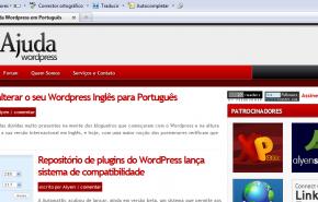 Atualização de PageRank do Ajuda WordPress, Outubro 2009.