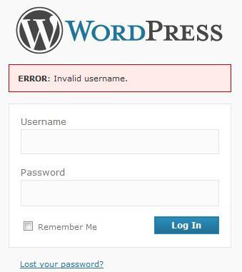 error-acceso-wordpress