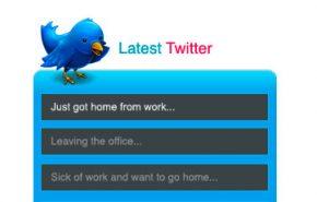 Inserir os últimos tweets no WordPress