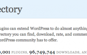 WordPress já tem 10.001 plugins