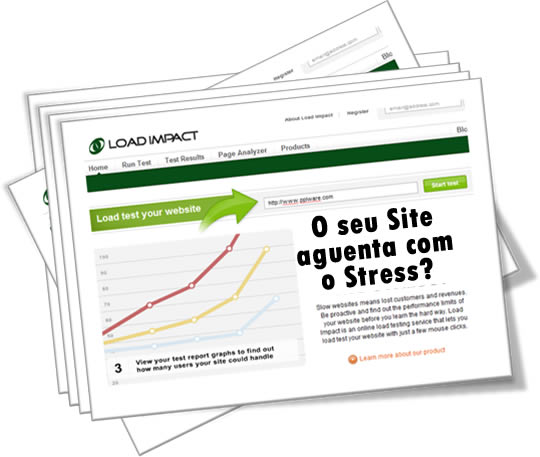 Teste de Stress para o seu Site ou Blog com Load Impact