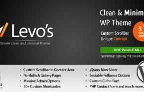 Levos 5 em 1, um theme WordPress Premium