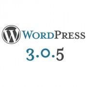 Atualizando o WordPress 3.0.5
