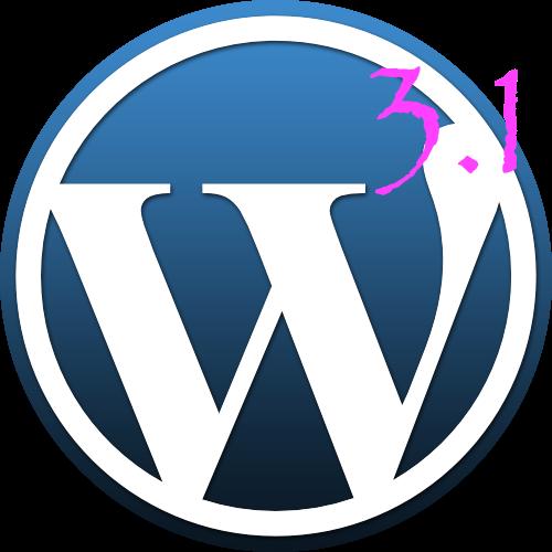 WordPress 3.1 disponível - A nova revolução