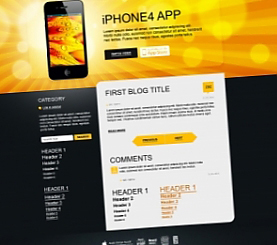 Divine Elemente - WordPress Theme & Template Generator