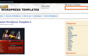 Free Templates WordPress – Temas para WordPress