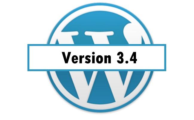 wordpress 3 4 - wordpress 3-4
