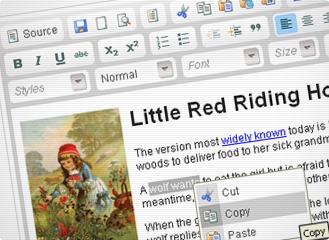 Editor HTML fácil na versão 3.3 do WordPress
