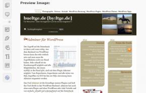 Nova funcionalidade do WordPress 2.9 na edição de imagens
