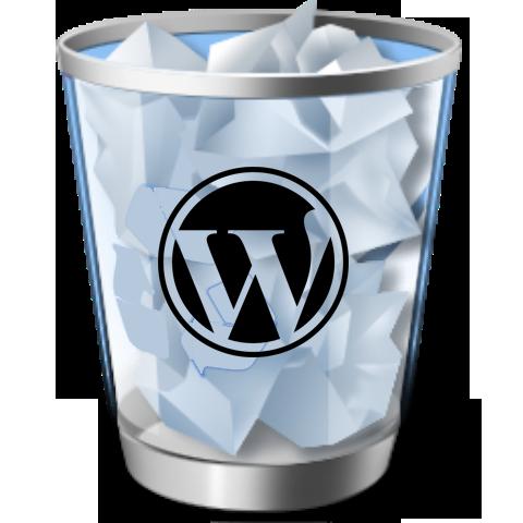 wordpress trash - WordPress 2.9 en WordPress.com