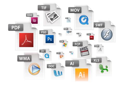Alterar os tipos de arquivo podem ser inseridos