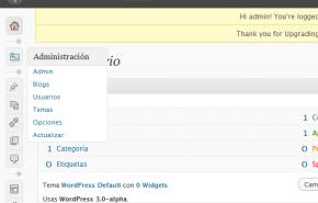 Habilitar a criação de vários blogs com WordPress 3,0-dev