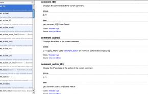 WPDocs, todas as API do WodPress