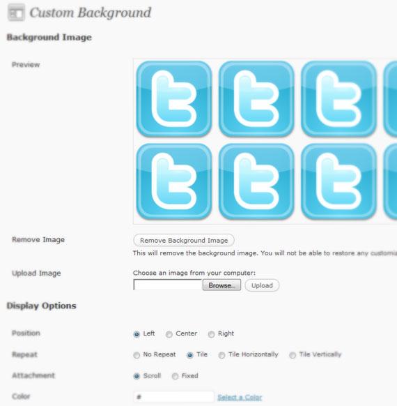 Como adicionar fundos personalizados no seu WordPress