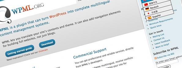 wpml - 5 plugins para criar um site multi-língua