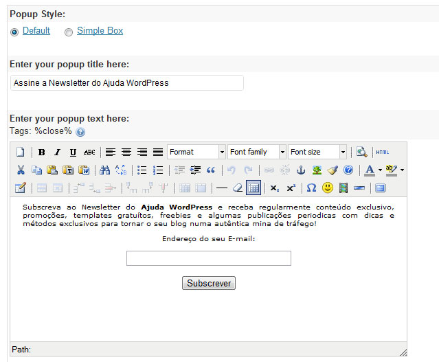 wordpress plugin maxblogpress - wordpress-plugin-maxblogpress