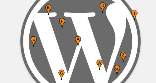 wp geolocalisation plugin b - Google Maps com Shortcode no WordPress