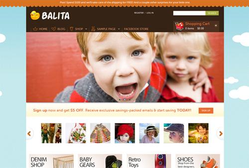 bal - Temas gratuitos de WordPress: 25 melhores de 2011.
