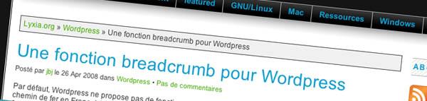 breadcrumb wordpress - Como adicionar Breadcrumb no seu WordPress