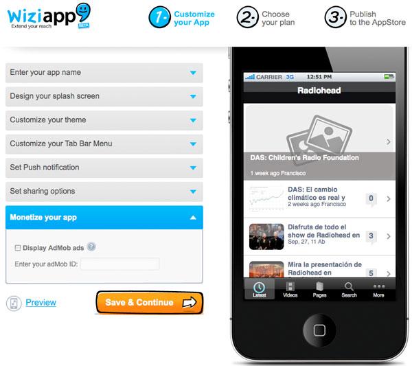 Converta seu WordPress em uma App para iPhone