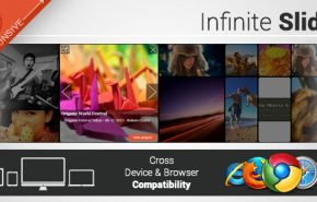 Infinite Slider WordPress responsive slide plugin