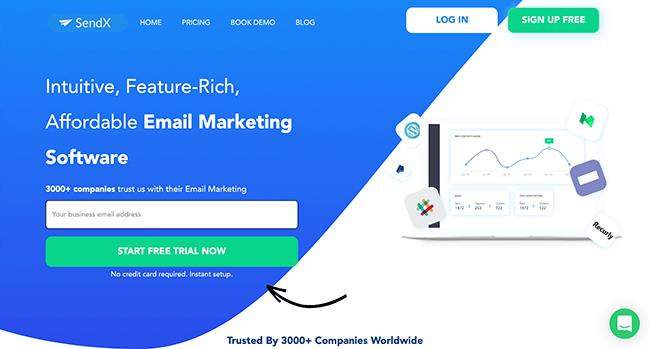 sendx Email Marketing Services - 10 Melhores serviços e ferramentas de software de e-mail marketing comparados